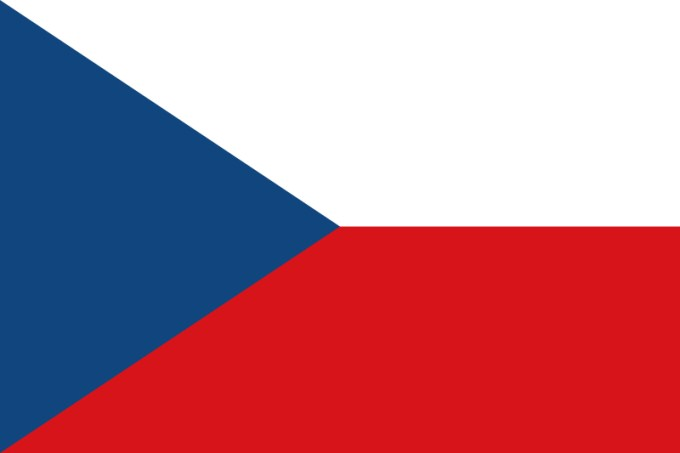 Flag of Czechoslovakia.