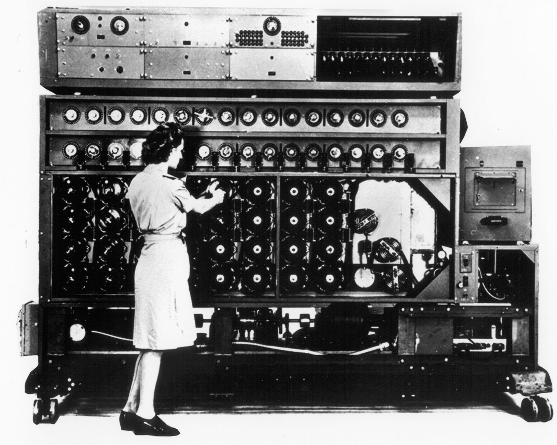 A decryption machine