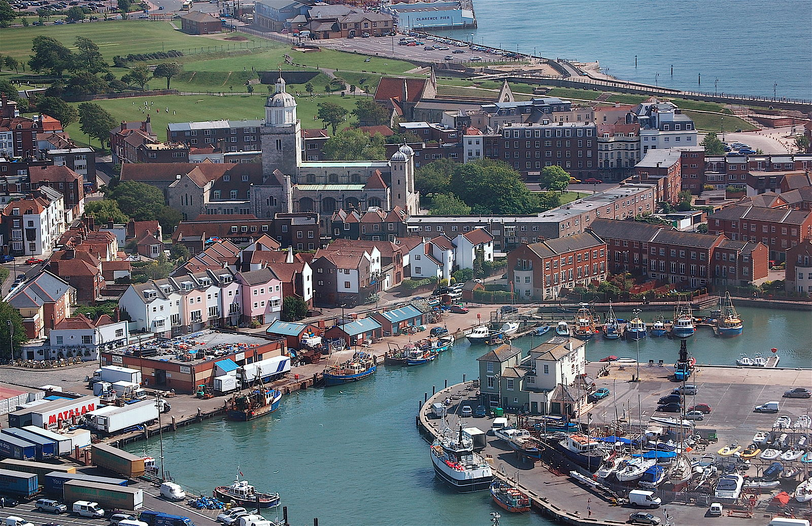 Old Portsmouth from the Spinnaker Tower