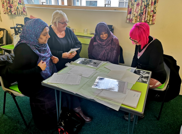 Chat over chai carry out research at their community centre