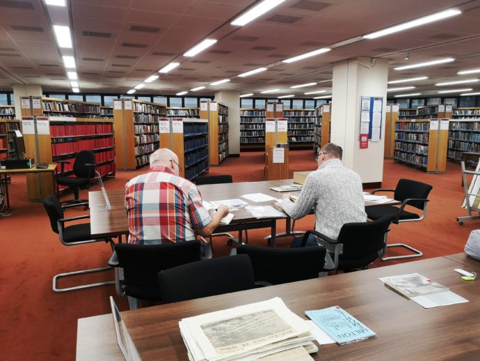 Volunteer groups researching D-Day at Portsmouth Central Library