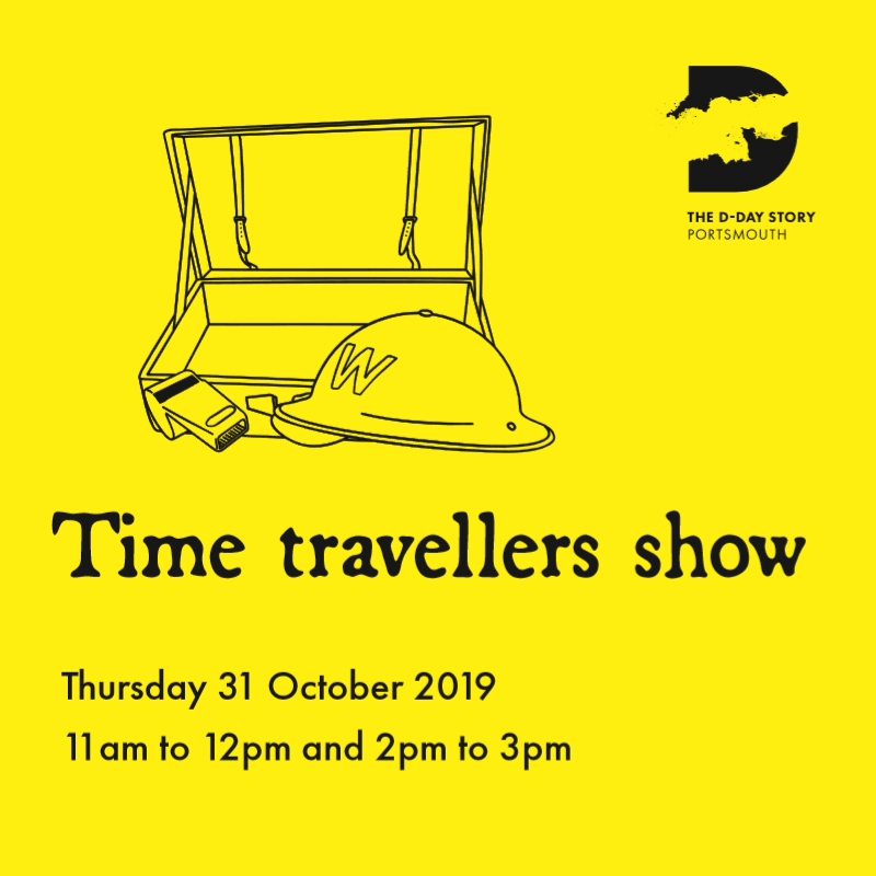 Image for our Time Travellers Show
