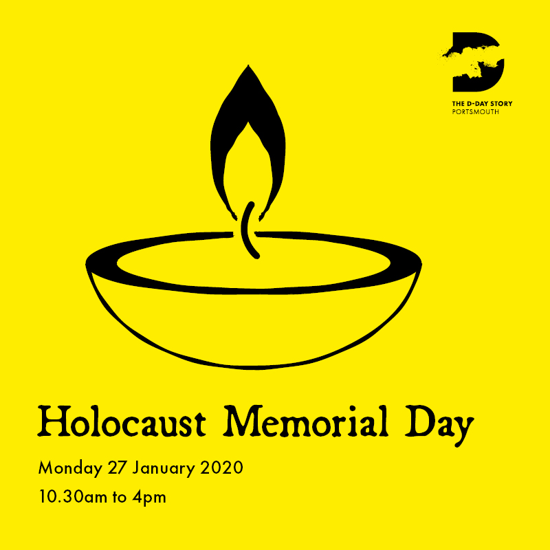 Image for our Holocaust Memorial Day event