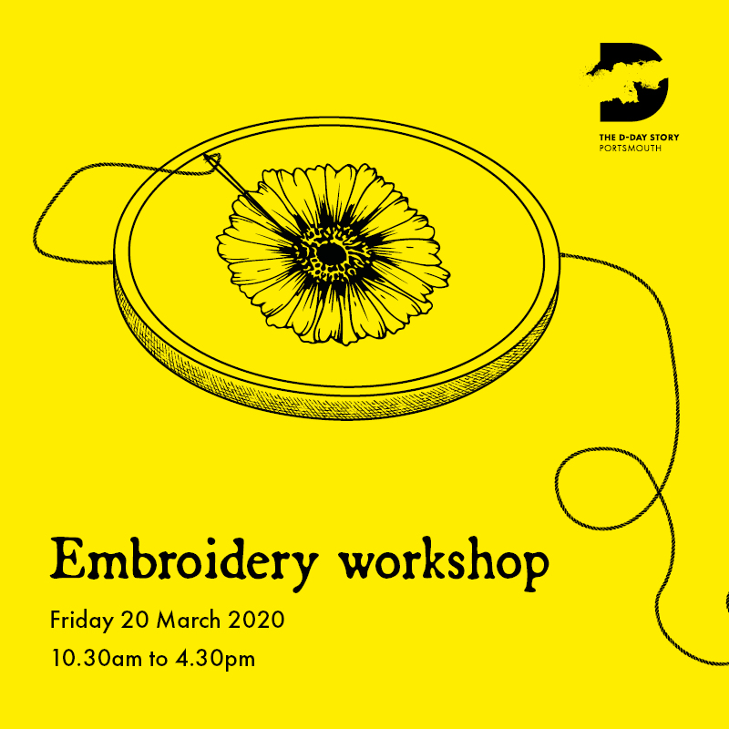 Silk shading embroidery class