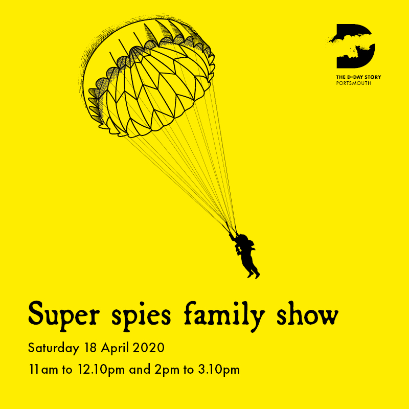 POSTPONED – Super spies family show