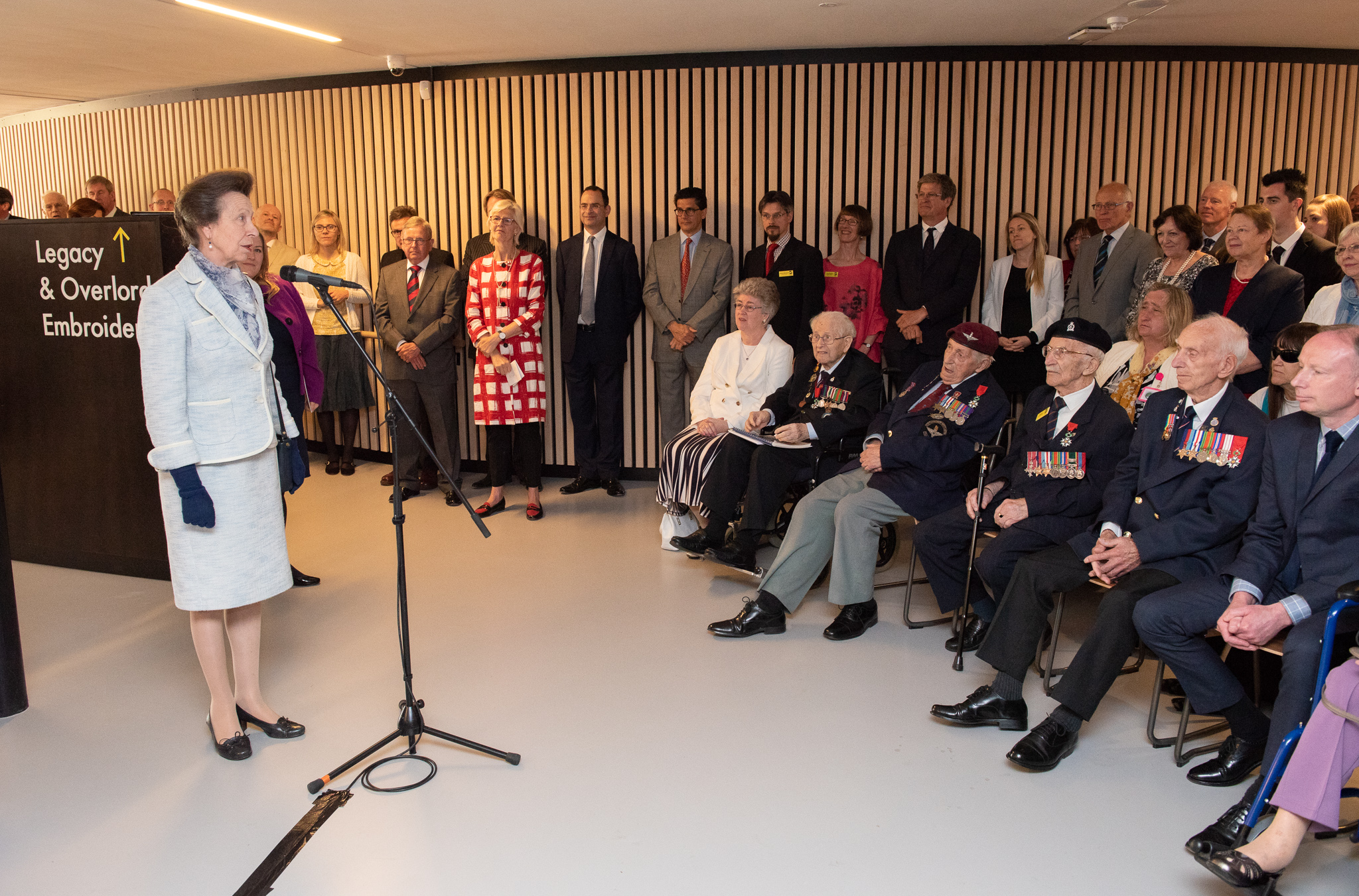 Our museum was opened by HRH The Princess Royal in May 2018