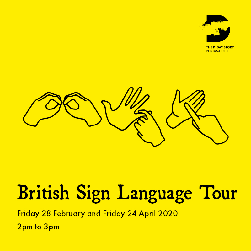 POSTPONED – British Sign Language tour