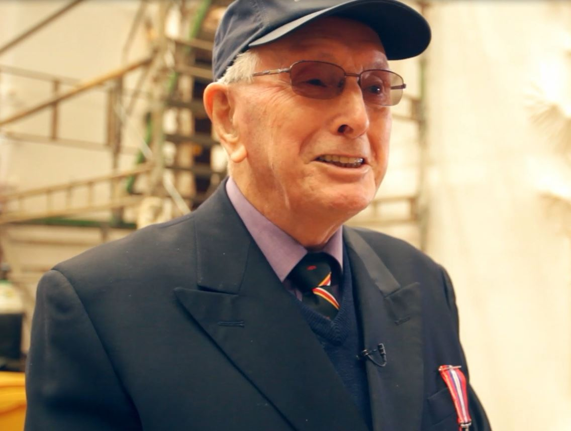 Photograph of veteran Bryan