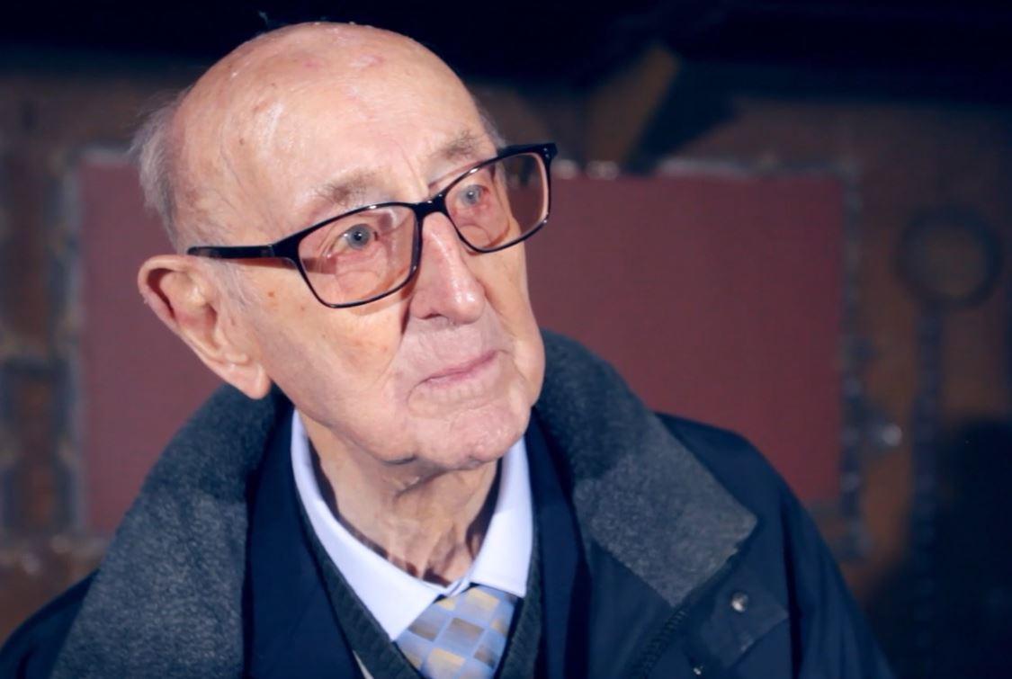 Photograph of veteran Harry
