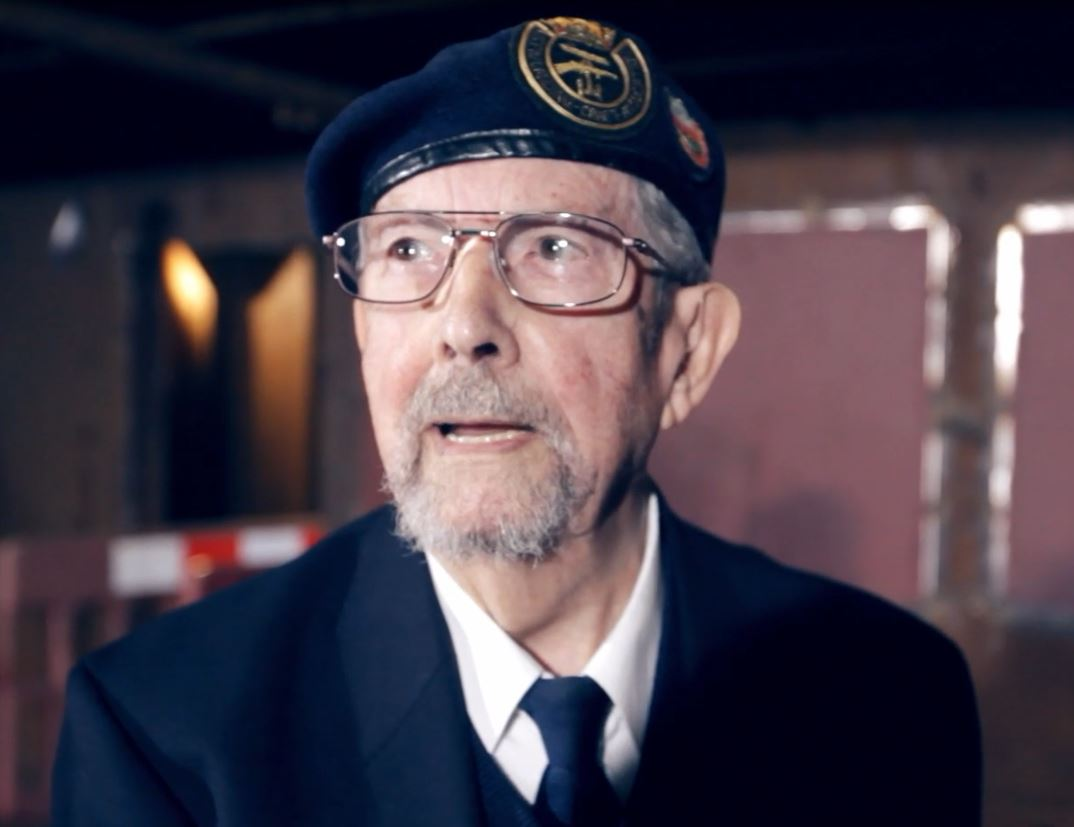 Photograph of veteran Walter
