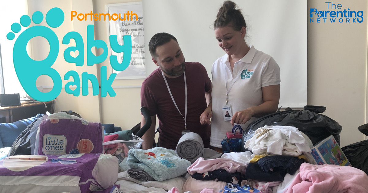 Workers at Portsmouth Baby Bank